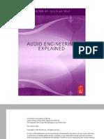 Audio Engineering Explained