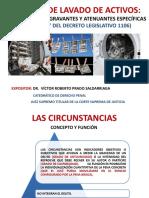 Circunstancias agravantes - Exp. Prado