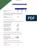 1° Cédulas presupuestaria