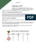 Tungstenos para Soldadura TIG  Definición Tipos y Referencias.docx