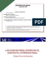 Agenda Sae Anual 2009