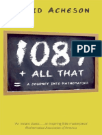 1089-and-All-That-A-Journey-Into-Mathematics - Espanol
