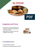 3.0 El Texto Definición