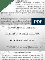 Presentación 2 septiembre diciembre Economia de Empresas, utilidad y elasticidad