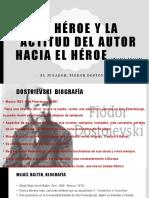 EL HÉROE Y LA ACTITUD DEL AUTOR HACIA