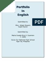 My English Portfolio