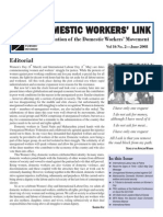 Newsletter - June 2008, NDWM (National Domestic Workers Movement)