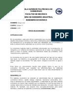TIPOS DE ECONOMIA
