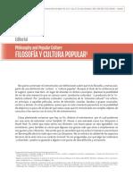 Filosofía y Cultura Popular - Heiner Mercado (4 pp)