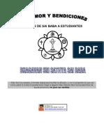 Con Amor y Bendiciones (Cartas de Sai Baba a Estudiantes