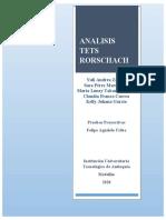 analisis laminas test de rorschach