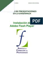 00 Diseño de presentaciones. Instalacion de Adobe Flash Player