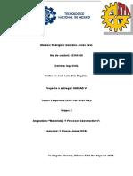 MATERIALES Y PROCESOS CONSTRUCTIVOS UNIDAD VI