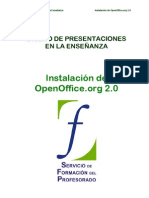 00 Diseño de presentaciones. Instalacion de OpenOffice
