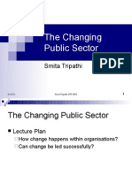 The Changing Public Sector for Portal
