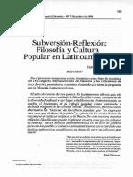 Filosofía y Cultura Popular en Latinoamérica - Angulo (9 pp)