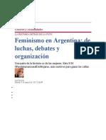 feminismo Argentina