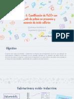 Práctica 6. Valoración de Fe (II) con Cr2O7