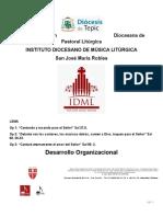 1 D.O. INSTITUTO DIOCESANO DE MÚSICA LITÚRGICA