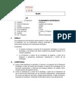 X CICLO-PLANEAMIENTO ESTRATEGICO 2020V2
