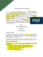 2. ANONIMA CON GERENTE PPAL Y SUPLENTE Y JUNTA DIRECTIVA DE