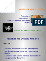 Tema 16 Normas de diseño urbano (1)