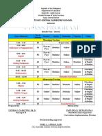 class program 2020