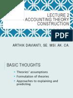 Accounting Theory Summary Notes