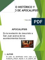 3 Contexto Histórico y Literario de Apocalipsis