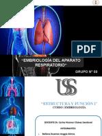 EMBRIOLOGIA DEL APARATO RESPIRATORIO (1)