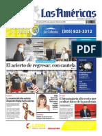 DIARIO LAS AMÉRICAS Edición impresa del 29 de mayo al 4 de junio de 2020