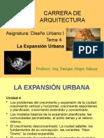 Tema 4 La Expansión Urbana