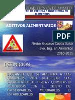 EXPOSICION DE ADITIVOS