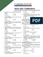 16. Permutation and Combination (E)
