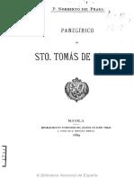 Norberto del Prado. Panegirico de Santo Tomas de Aquino.pdf
