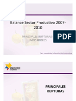 Balance Productivo Ecuador 07-10