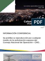 Avances Ciberseguridad. Lecciones aprendidas Acuerdo CNO 788