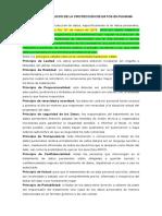 PRINCIPIOS BASICOS DE LA PROTECCIÓN DE DATOS EN PANAMÁ
