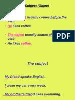 subject object possessive pronouns.ppt