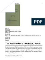 The Freethinkers Text Book P