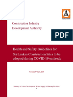 CIDA Guidelines for Construction Sites