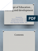 Concept of Education , training and development.pptx