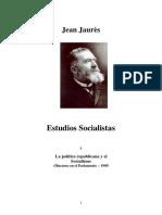 [Jean Jaures] Estudios Socialistas