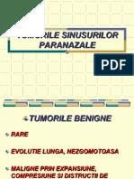 7. TUMORILE SINUSURILOR PARANAZALE