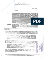 Omnibus Guidelines on Quarantine and Test Procedures of Overseas Filipinos & Foreign Nationals
