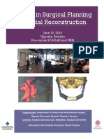 surgical planning in facial reconstruction