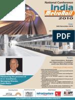 India Metro Rail 2010 Brochure