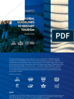 UNWTO Global Guidelines to Restart Tourism