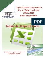 5. TECLAS DE ATAJO DE EXCEL 2007-2010