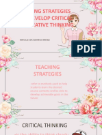 teaching strategies to develop critican and creative thinking.pptx